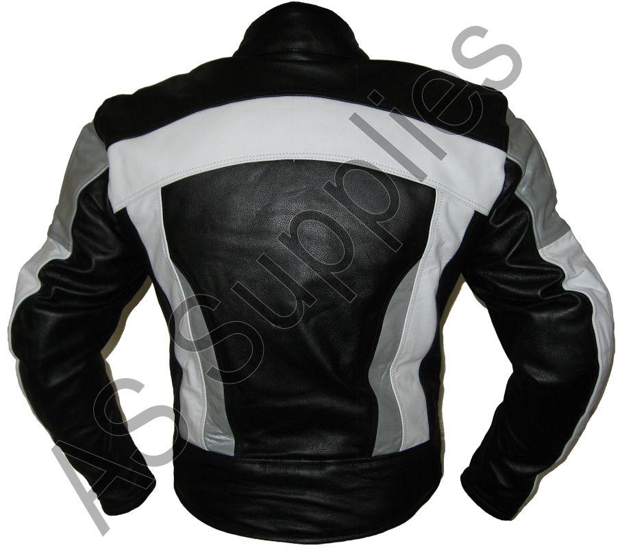 erasmus veste de moto en cuir blouson motard toutes tailles ebay. Black Bedroom Furniture Sets. Home Design Ideas